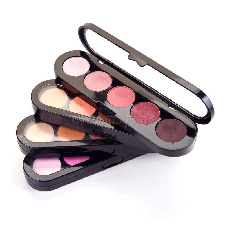 Cosmetics for makeup. Decorative cosmetics for makeup. Close up stock images