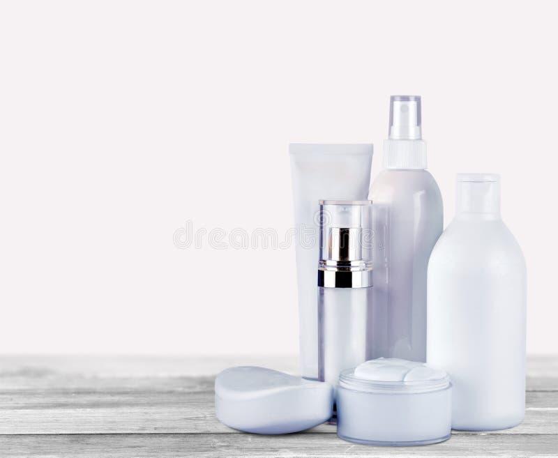 Cosmetics. Moisturizer Bottle Packaging Beauty Blank Isolated stock image
