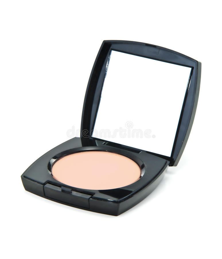 Download Cosmetics Powder Compact stock photo. Image of close - 19651048