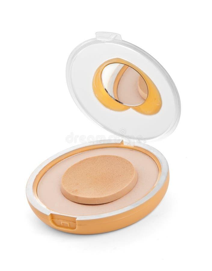 Cosmetics Powder Compact royalty free stock photos