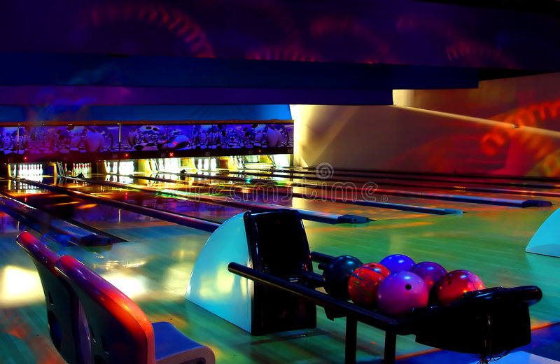 Download Cosmic Bowling stock image. Image of balls, trippy, party - 1248515