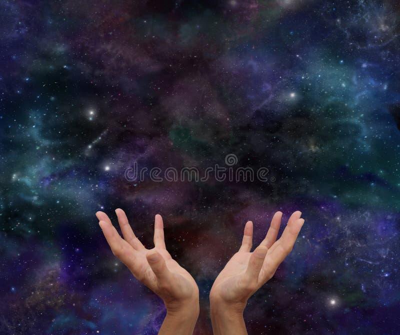 Cosmic Healing royalty free stock image