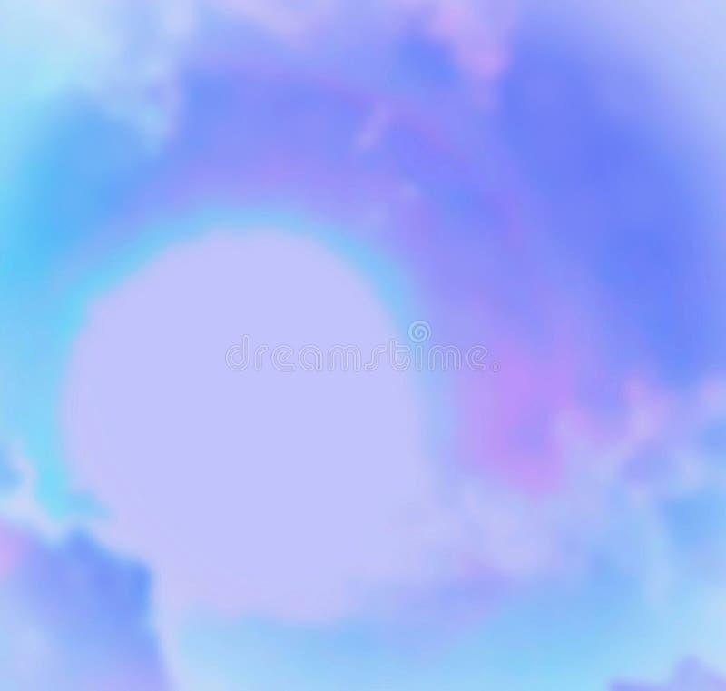 Cosmic Heavenly Rainbow Above The Sun In Louisiana stock image