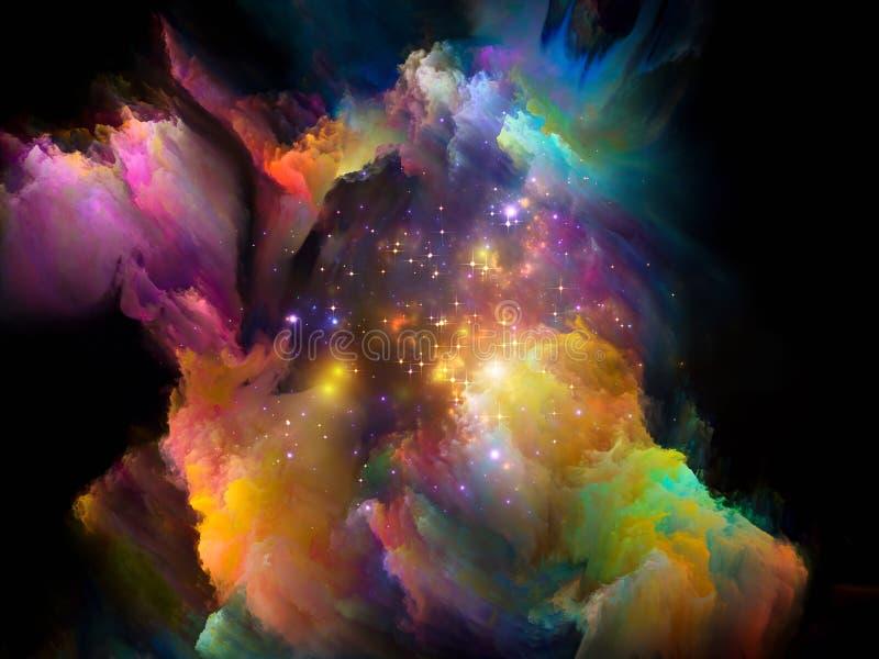 Cosmic Paint royalty free illustration