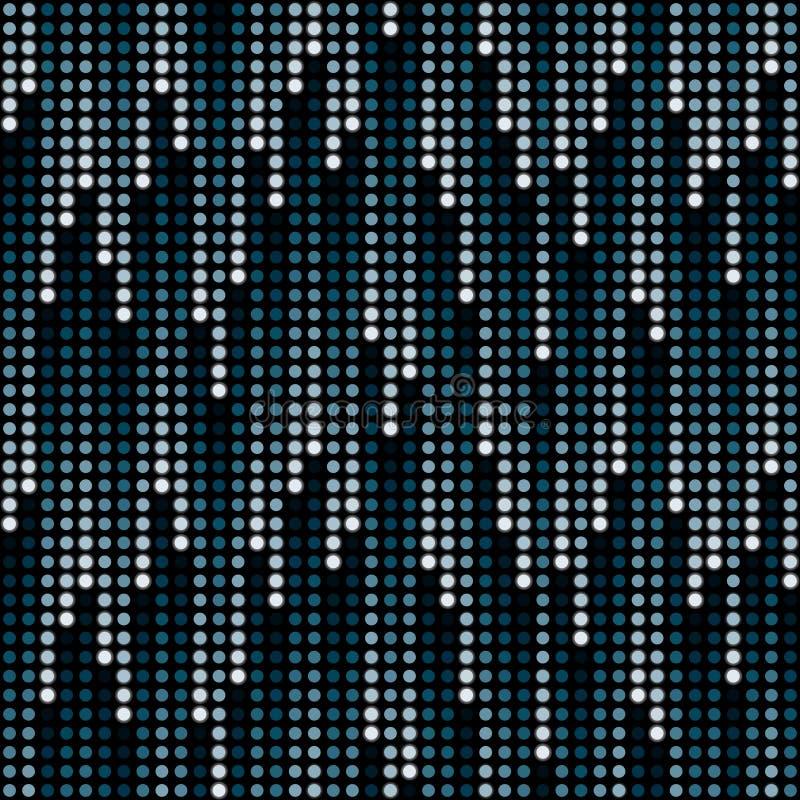 Download Cosmic Rain Of Halftone Dots Stock Vector - Image: 16214147