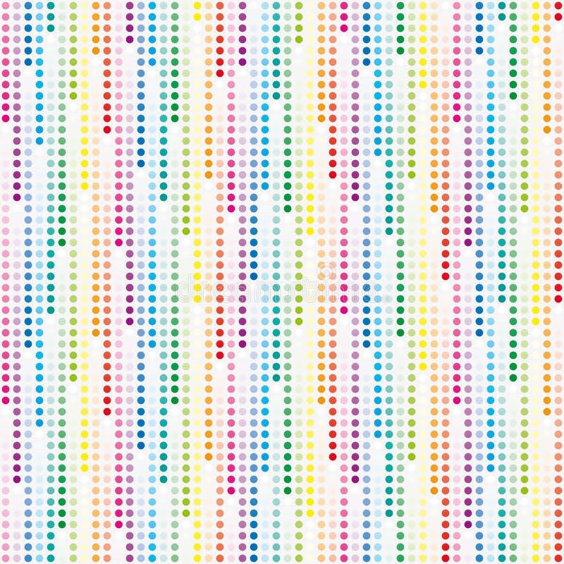 Download Cosmic Rain Of Halftone Dots Stock Illustration - Illustration: 16214149