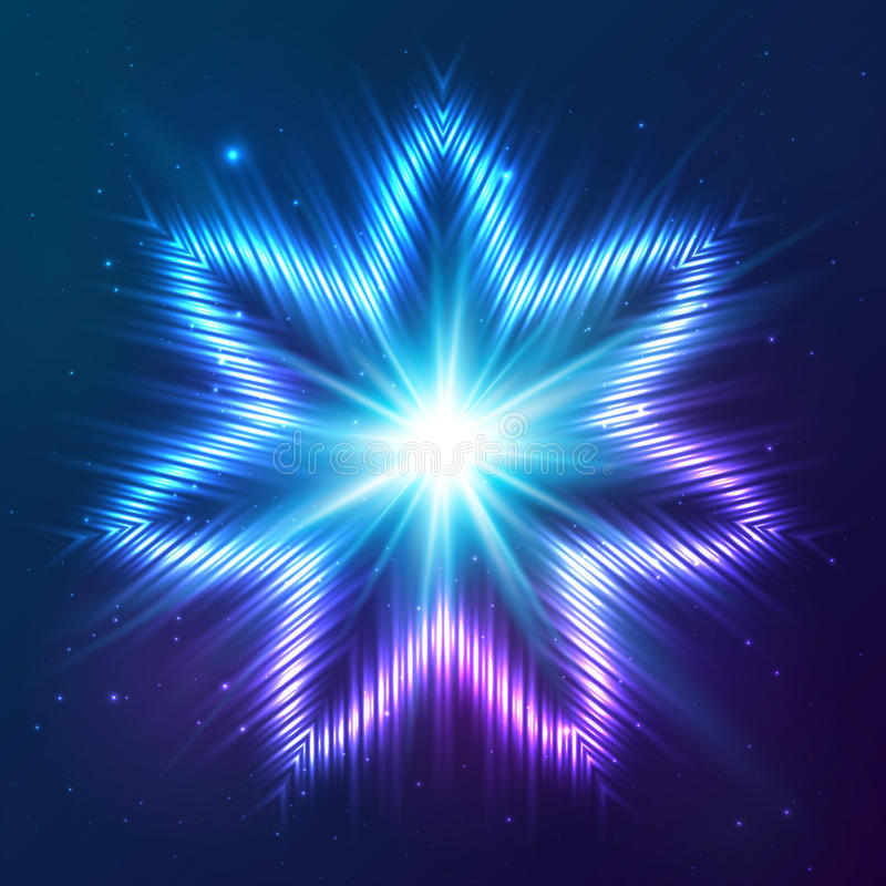 Download Cosmic Shining Vector Abstract Star Stock Vector - Image: 41356183