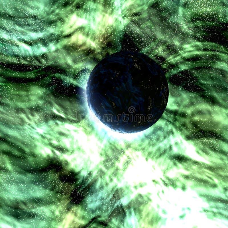 Download Cosmic space planet stock illustration. Illustration of globe - 9180806