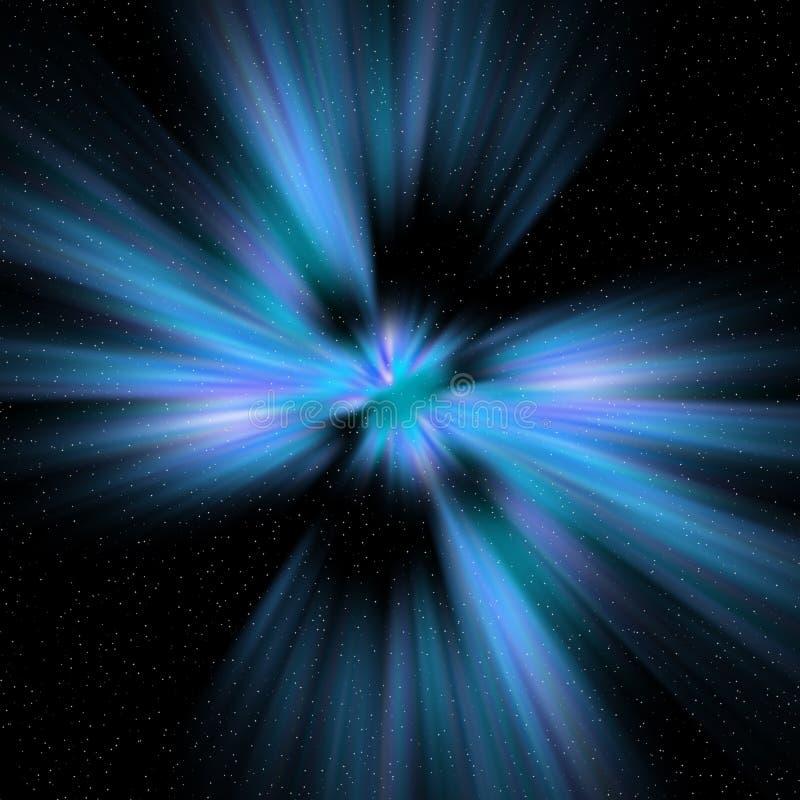 Cosmic starburst royalty free stock photo