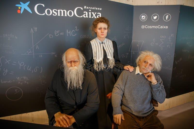 Cosmo Caixa images libres de droits