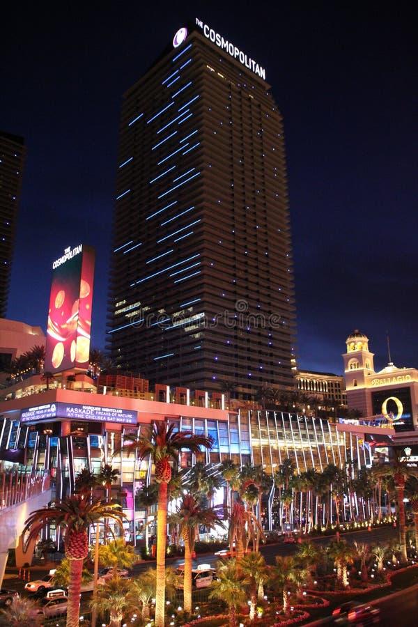 Cosmopolita de Las Vegas fotografía de archivo