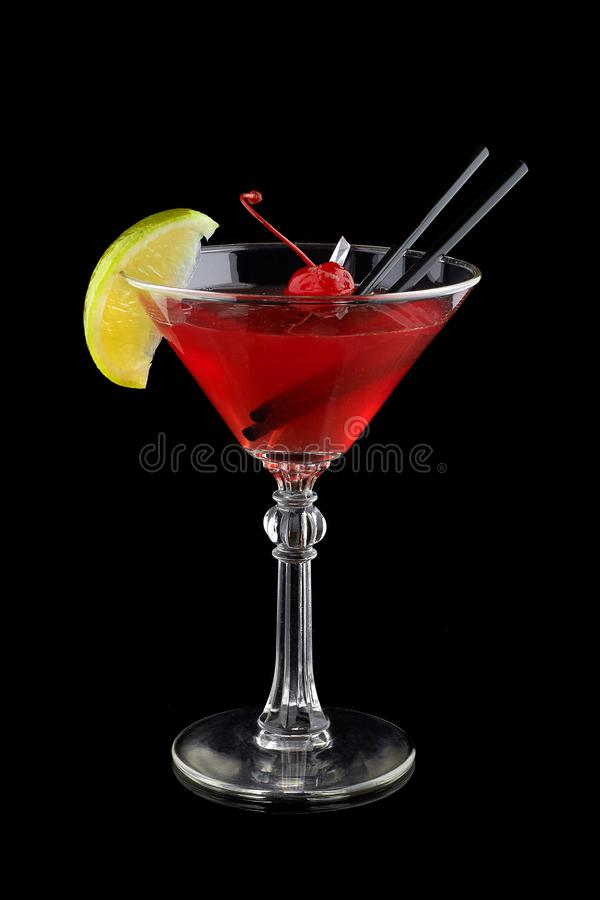Cosmopolitan cocktail alcoholic royalty free stock photography