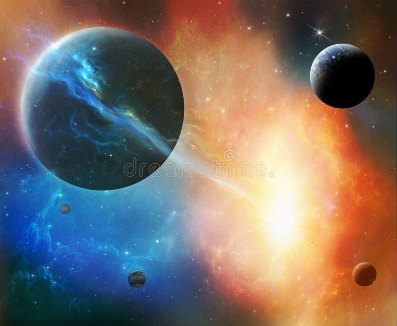 cosmos fantastique illustration libre de droits