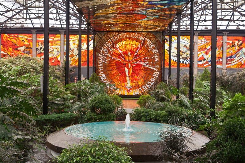 Cosmovitral Botanical Gardens Toluca royalty free stock photos