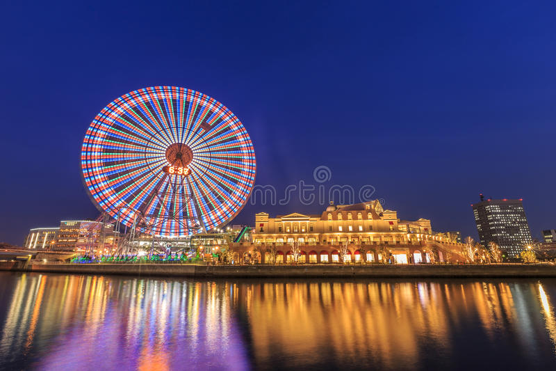 Cosmowereld in Yokohama royalty-vrije stock foto
