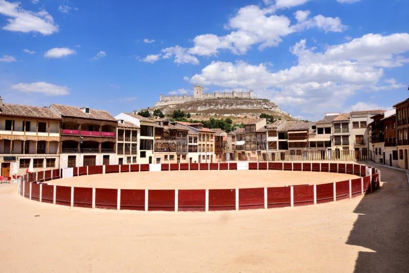 Coso kwadrat Penafiel, Valladolid prowincja, Leon, fotografia stock