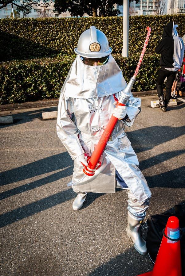 Cosplay在东京 免版税图库摄影