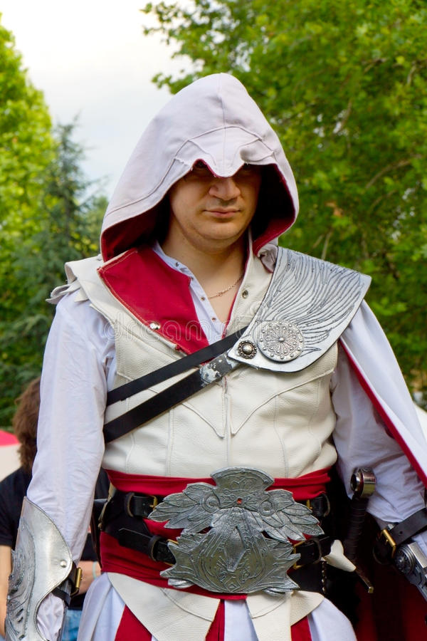 Cosplay - Assassin's Creed stock image