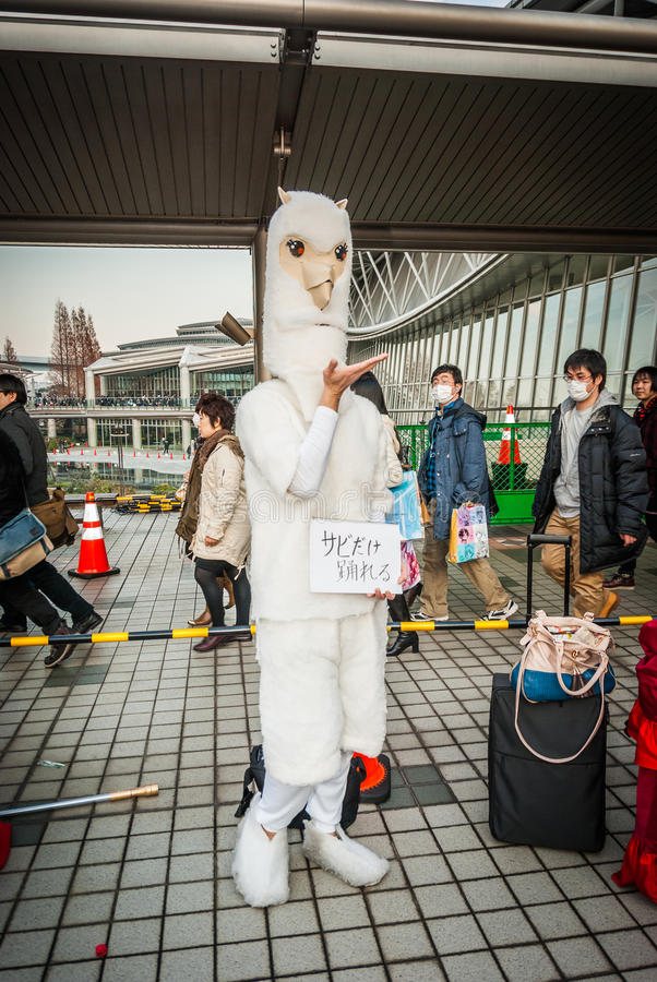 Cosplay en Tokio foto de archivo