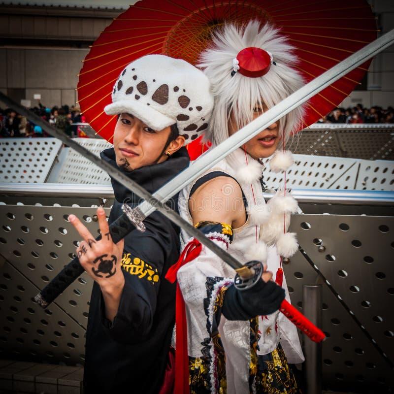 Cosplay en Tokio imagenes de archivo