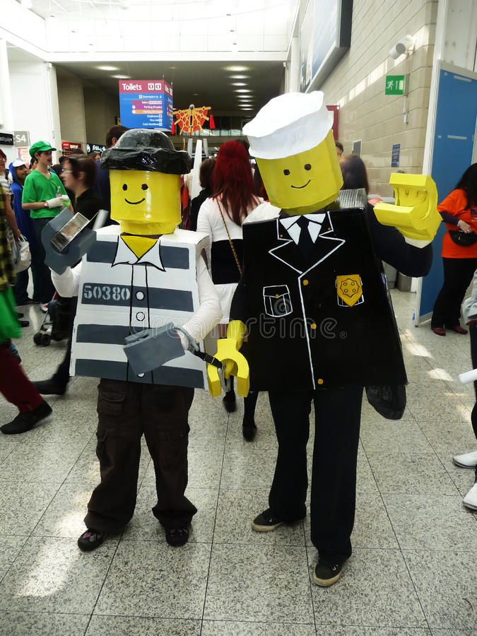 Free Cosplay Event At Londons Excel Center Stock Photo - 14567020