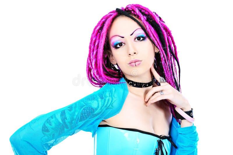 Cosplay girl stock photography
