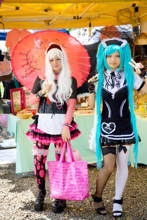 Cosplay - Harajuku Girl stock image