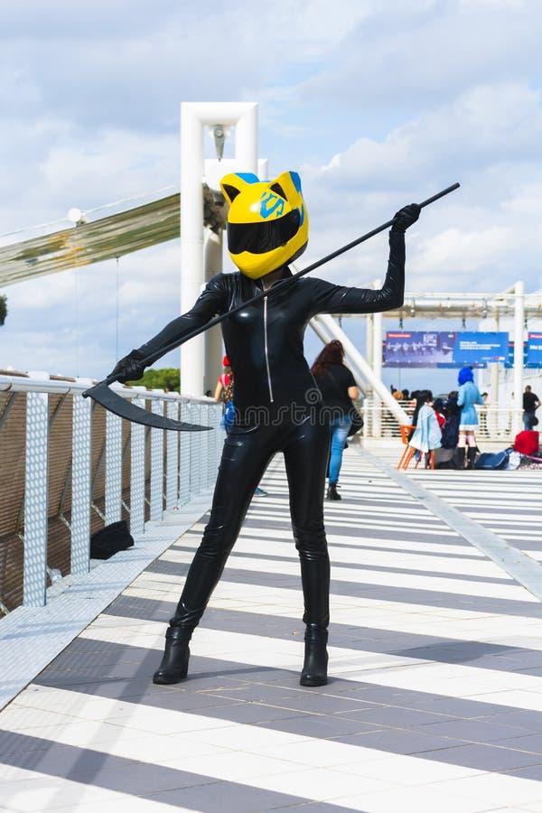 Cosplay kostium zdjęcie royalty free
