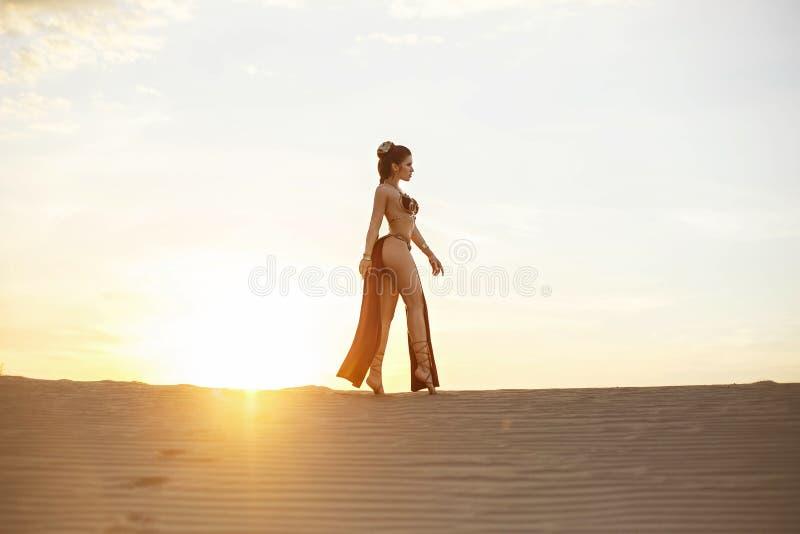 Cosplay Leia原则独奏从星际大战 免版税库存照片