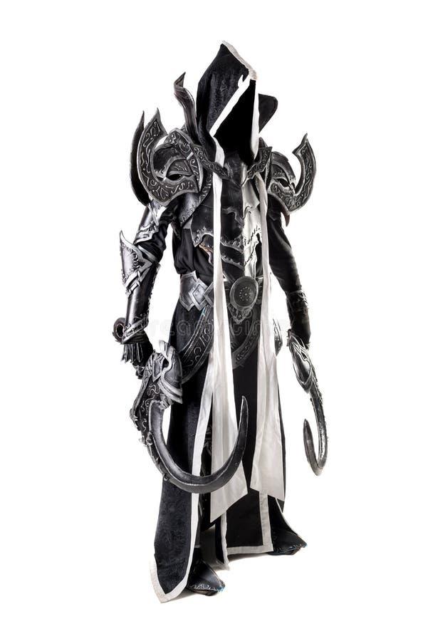 Cosplay van een demon royalty-vrije stock afbeelding