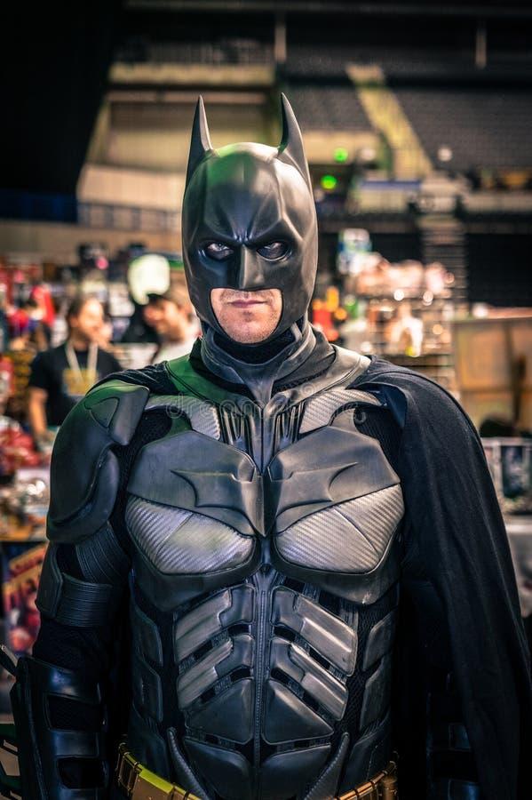 Download Cosplayer Klädde Som 'Batman', Redaktionell Arkivbild - Bild av tecken, dressing: 78729182