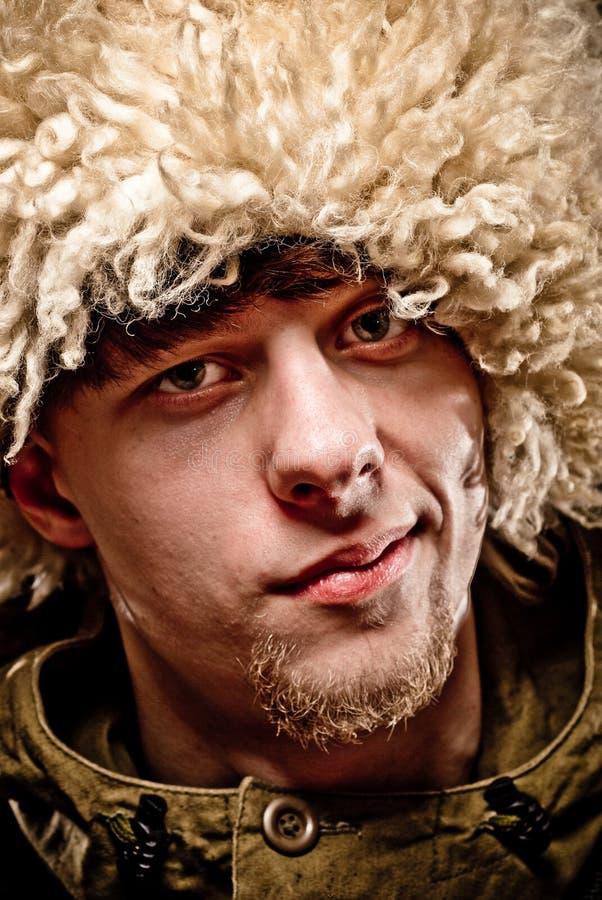Cossack russo fotografie stock