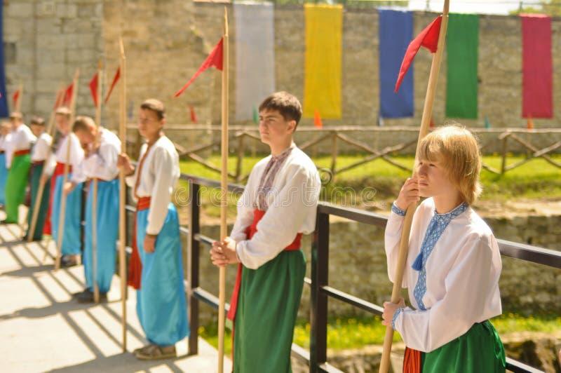 cossacks ukrainian potomstwa fotografia royalty free