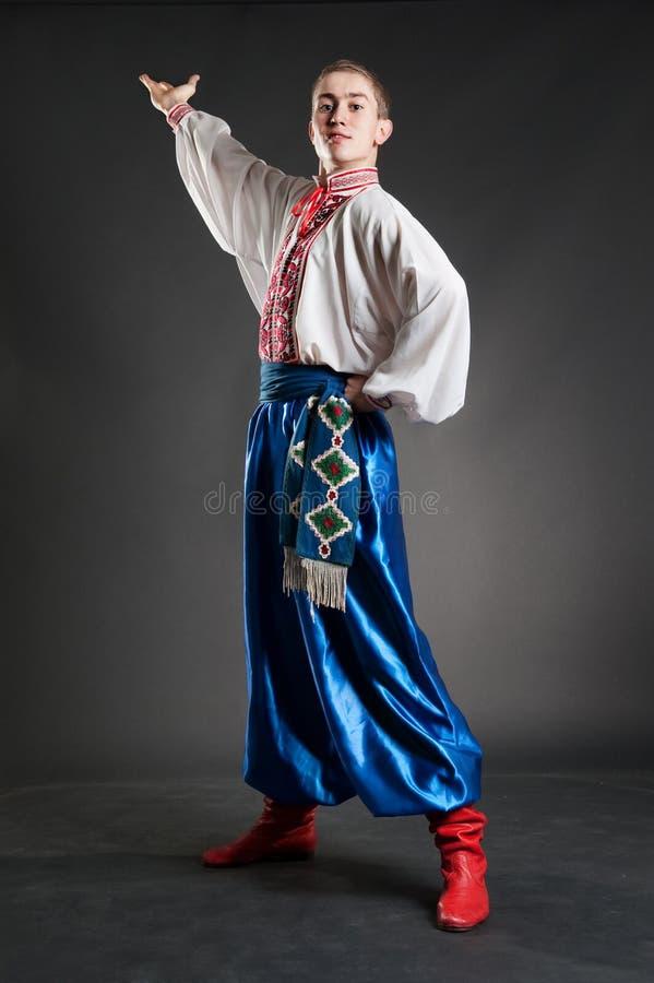 Cossak ucraino bello fotografie stock