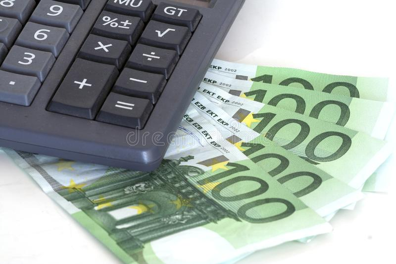 Cost Control Stock Photo