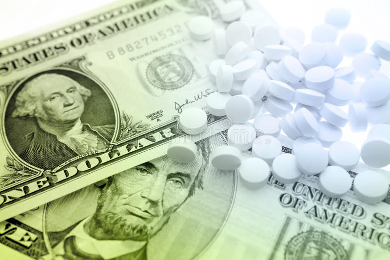 Cost of health care stock image