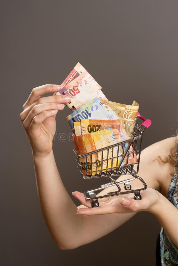 Cost of living concept stock photo