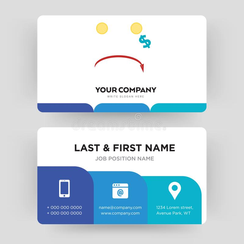 Cost uction business card design template visiting for your company download cost uction business card design template visiting for your company stock illustration illustration colourmoves