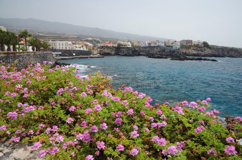 Costa Adeje, Tenerife Spagna fotografie stock