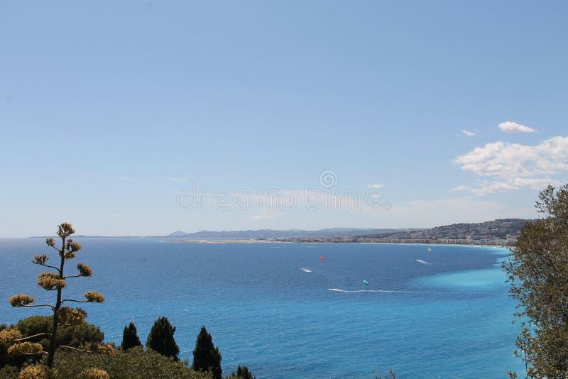 Costa Azure de France fotografia de stock royalty free