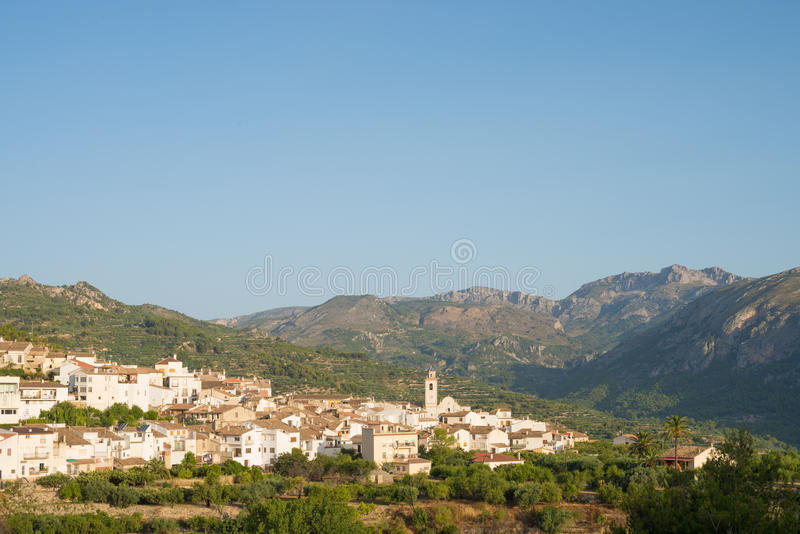 Download Costa Blanca landscape stock photo. Image of costa, spain - 32281522