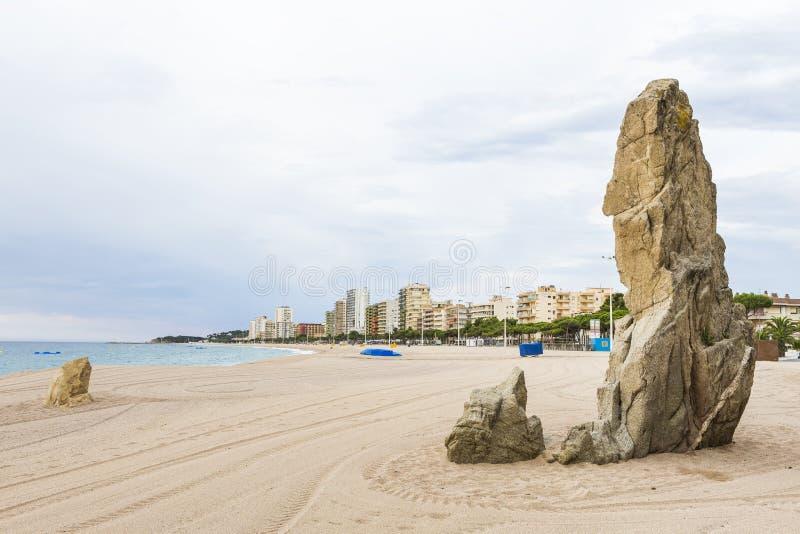 Costa Brava fotografia stock
