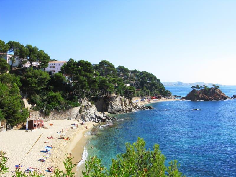 Costa Brava stock afbeeldingen