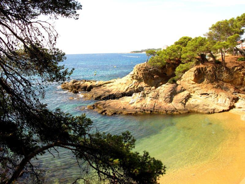 Costa Brava stock image