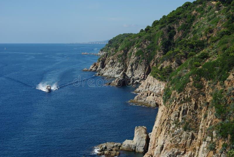 Costa Brava imagen de archivo