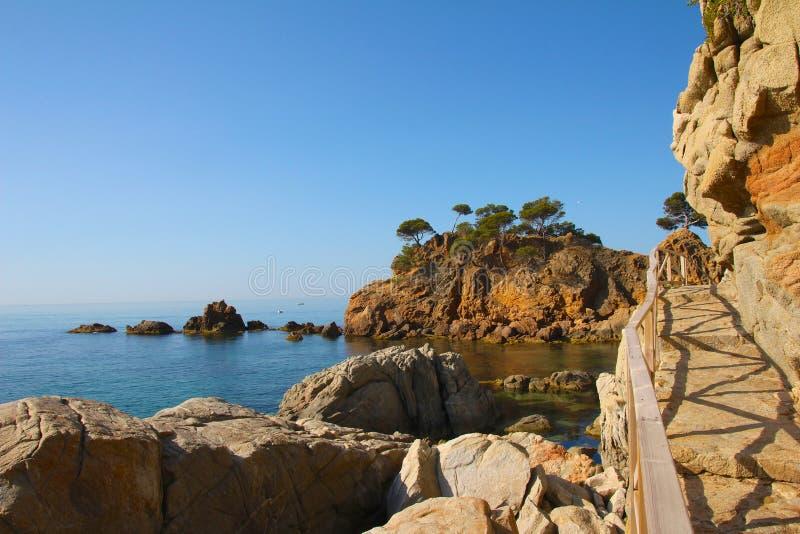 Costa Brava Bay 1 royalty free stock photos