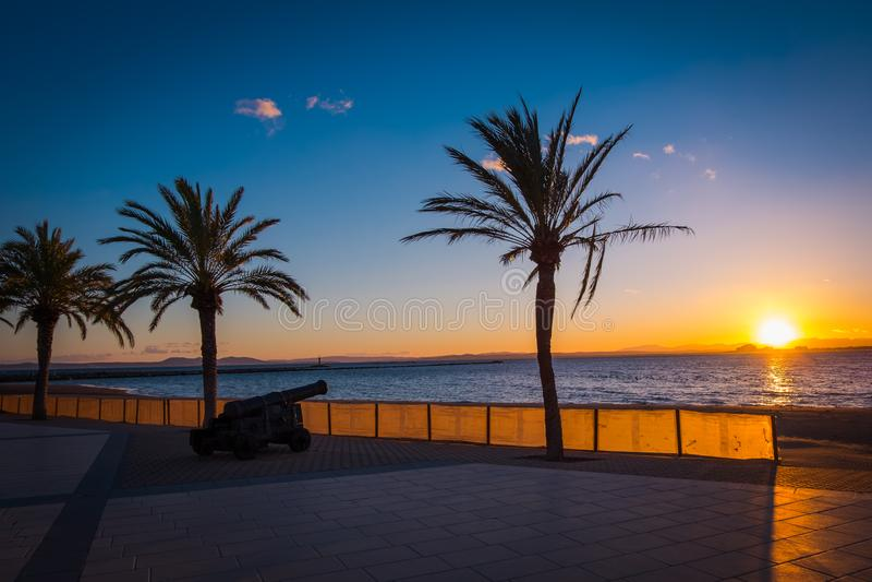 Costa Brava, Catalonia, Spanien arkivfoto