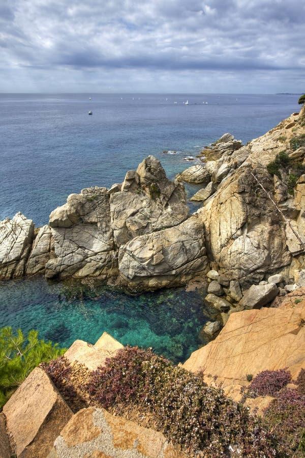 Free Costa Brava Landscape Near Tossa De Mar, Spain. Stock Photos - 20786943