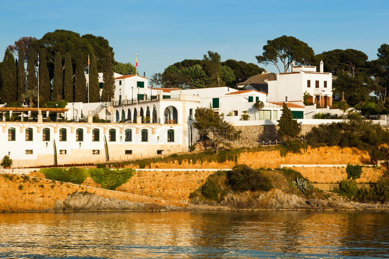 Download Costa Brava resort stock image. Image of travel, view - 25176693