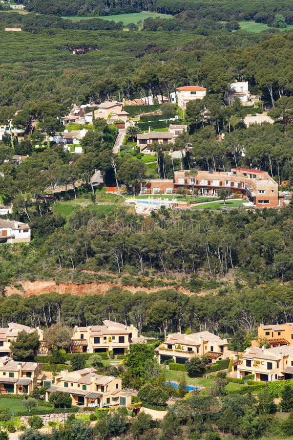 Costa Brava Resorts Royalty Free Stock Photo